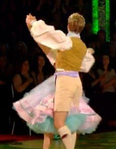Lucky old Trent - all that petticoat between his legs...
