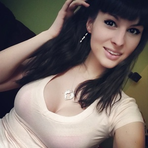 Bailey Jay in a nice sweater. Gorgeous.