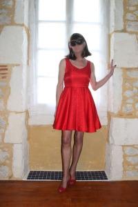 Chiffon in Red